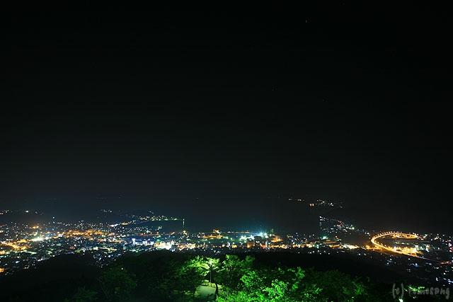 美しさ Lv3.0 】 十万山公園 展望台の夜景  夜景ワールド